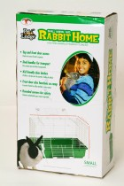 Small Plastic Bottom Rabbit Home