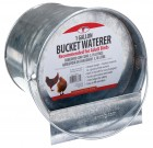 Galvanized Bucket Poultry Waterer