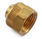 Brass Pipe Threaded Nut for Auto Fount