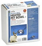 1 Quart Stainless Steel Heated Pet Bowl