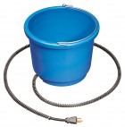 9 Quart Plastic Heated Bucket