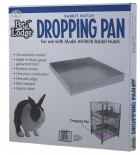 "Metal Rabbit Hutch Dropping Pan, 24"" by 24"""