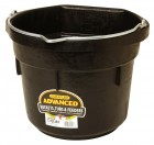 12 Quart Rubber Flat Back Bucket