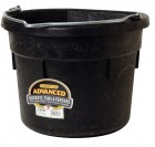 18 Quart Rubber Flat Back Bucket