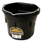 8 Quart Flat Back Rubber Bucket