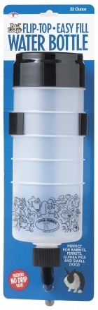 32 Ounce Flip-Top Easy Fill Water Bottle
