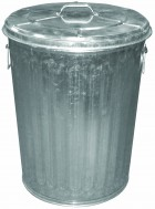 20 Gallon Galvanized Garbage Can