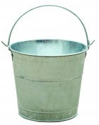 3 Pint Galvanized Pail
