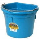 22 Quart Flat Back Plastic Bucket