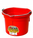 8 Quart Flat Back Plastic Bucket