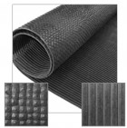 Pre-Cut Rubber Utility Mat, 120 Inch by 60 Inch