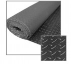 40-Foot Checker-Plate Rolled Rubber Mat