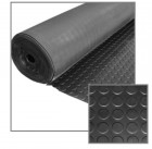 49-Foot Round Dot Rolled Rubber Mat