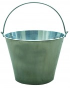 13 Quart Stainless Steel Dairy Pail