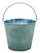 16 Quart Stainless Steel Dairy Pail