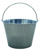 20 Quart Stainless Steel Dairy Pail