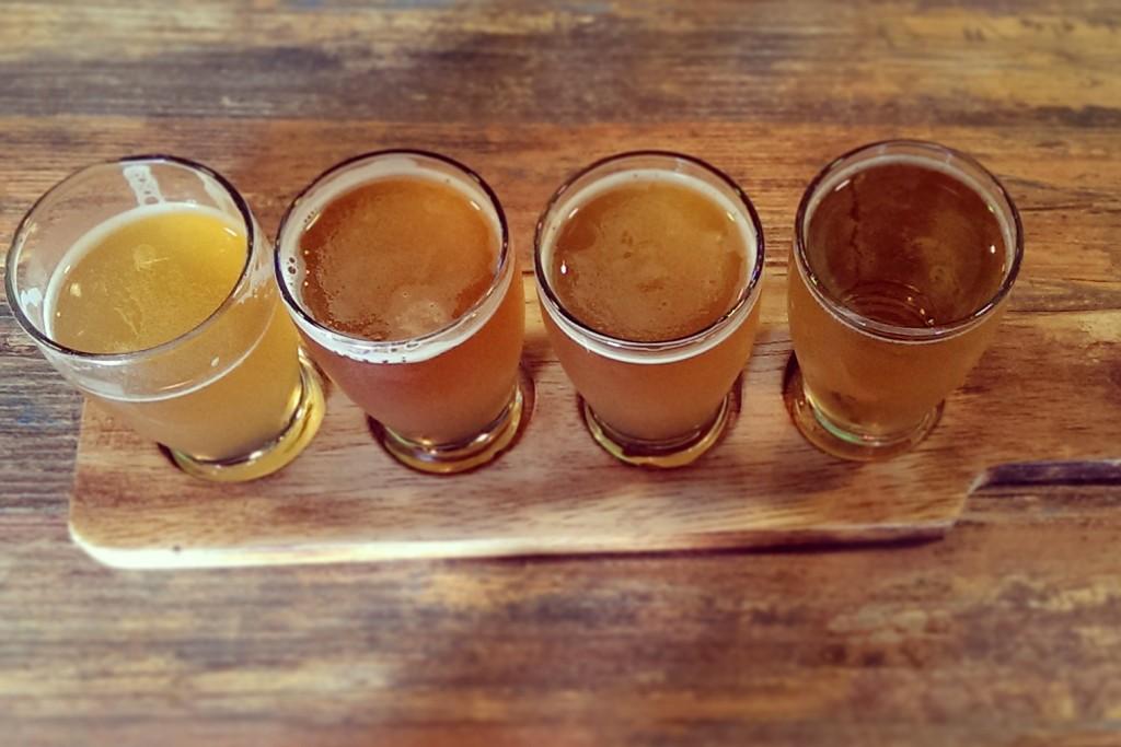 Homebrewing Beer Sampler